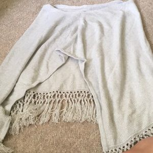 Lilly Pulitzer Tops - Lilly Pulitzer FLOREANNA FRINGE WRAP!